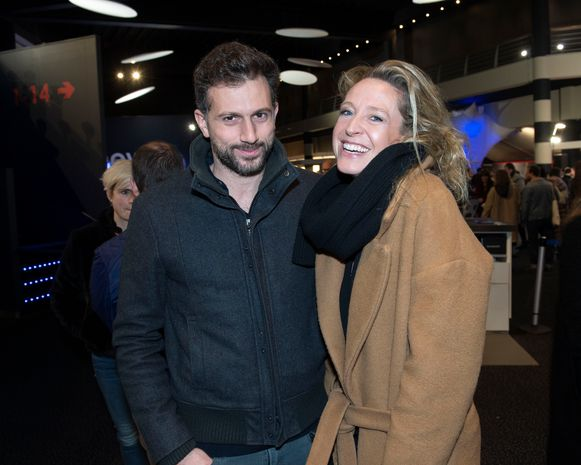 Cath Luyten en haar nieuwe vriend Eshref.
