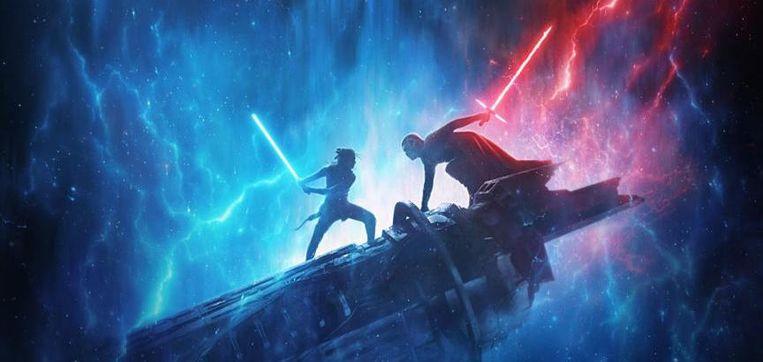 Stukje uit de poster van 'Star Wars IX'
