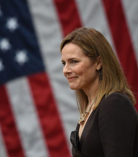 Senaat VS stemt in met benoeming Amy Coney Barrett in Hooggerechtshof