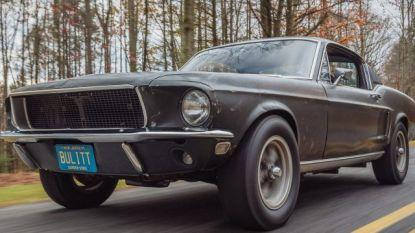 Duurste Mustang ooit: Ford van Steve McQueen in 'Bullitt' verkocht voor 3,7 miljoen dollar