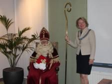 Burgemeester ontvangt dit jaar Sinterklaas die op straat onzichtbaar is