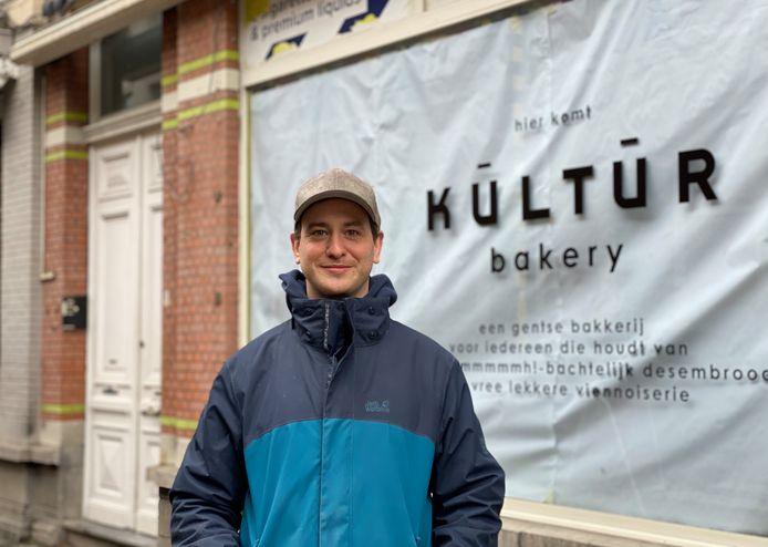 Mathieu Dierinck van Kūltūr dat in februari opengaat.
