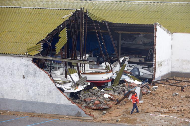 Schade in Girona.