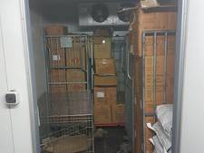 1300 kilo illegaal vuurwerk in schuur Sint Willebrord