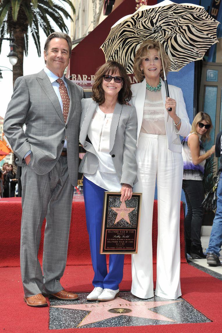 Ook acteur Beau Brides en Jane Fonda waren van de partij.