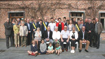 Willy en Adelheid vieren gouden bruiloft in Massemen