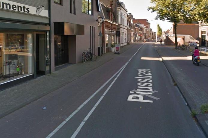 De Piusstraat in Tilburg.