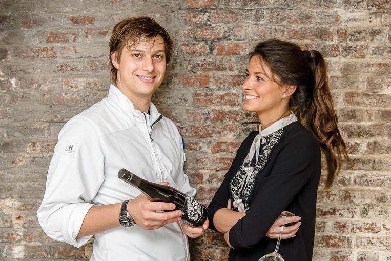 Eros Tomassetti en zijn vrouw Liesbeth Theyskens.