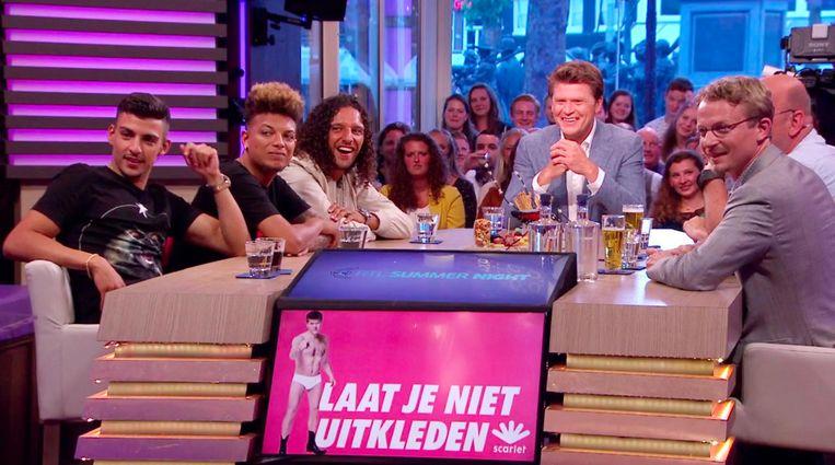 Beau van Erven Dorens in RTL Summer Night. Beeld anp