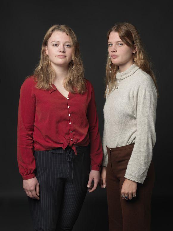 Roos (links) en Lotte Klaver