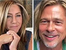 Jennifer Aniston et Brad Pitt réunis le temps d'une vidéoconférence