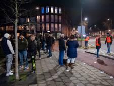 FC Den Bosch supporters op de bres voor de stad, overwegend rustige avond in Oost-Brabant