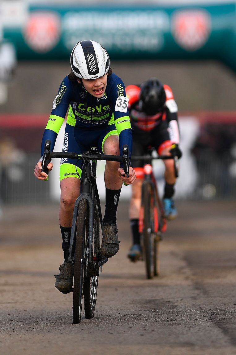 Wies Nuyens eindigde vijfde op het BK in Antwerpen.