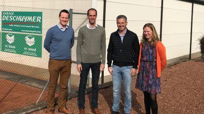 Stad geeft renteloze lening aan Tennis- en Padelclub Zottegem voor bouw clubhouse