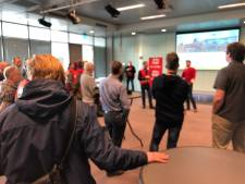 Honderd ASML-ers doen mee aan staking in Veldhoven, ondanks 'gevoel van intimidatie'