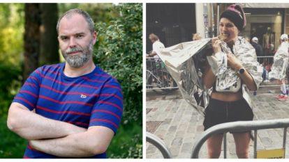 SHOWBITS. Tomas De Soete heeft een rare puppy en Erika Van Tielen liep haar eerste marathon