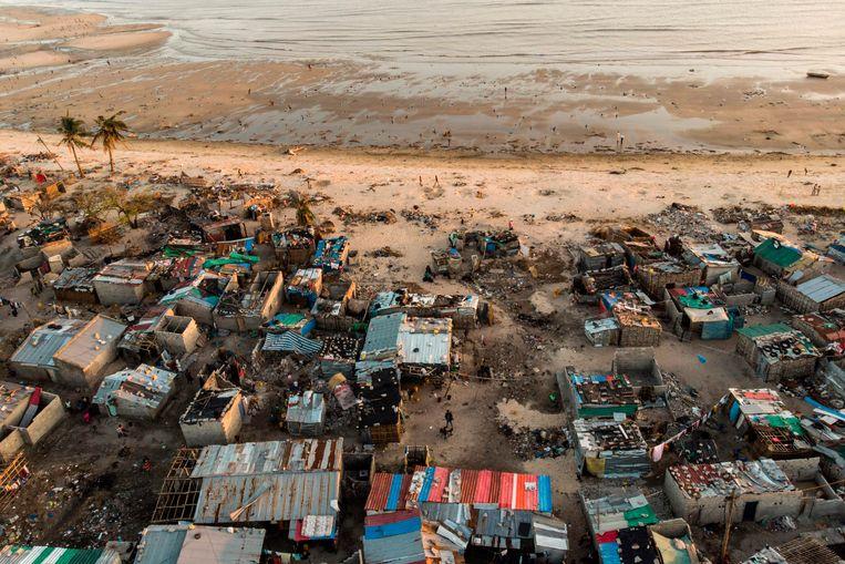 Heel wat dorpen zijn verwoest door de cycloon Idai.