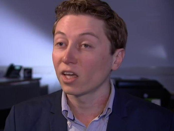 David de Vreede is de nieuwe wethouder van de SP in Lelystad.