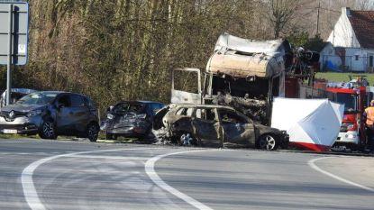 Trucker die motard doodreed, krijgt dezelfde straf in beroep: 4 jaar cel en levenslang rijverbod