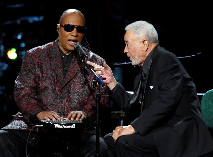 In 2015 met Stevie Wonder.