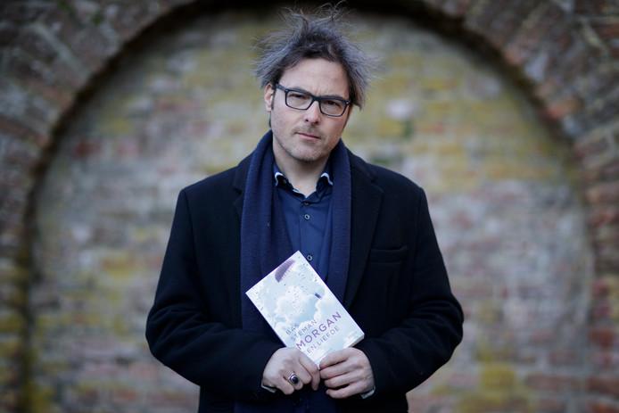 Schrijver Bas Steman heeft veel succes met zijn tweede roman, 'Morgan, een liefde'. FOTO PATRICK VAN GEMERT/ZUTPHENS PERSBUREAU