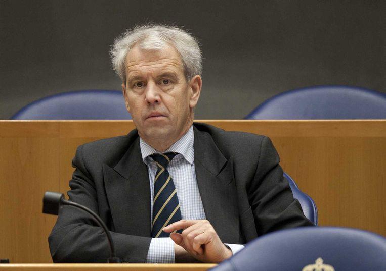 Voormalig VVD-Kamerlid Johan Houwers. Beeld anp