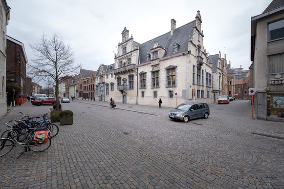 De Keizerstraat in Mechelen.