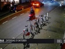Scooterrijder trapt agent van de fiets in Zwolle en gaat ervandoor