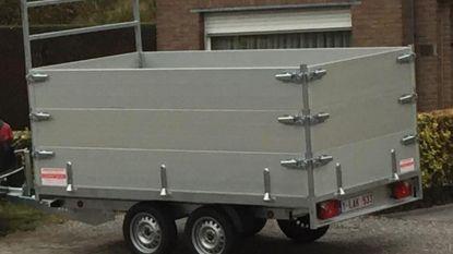 Dieven maken aanhangwagens buit in Oudenburg