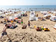 Alsof het een normale zomerdag was op het strand van Noordwijk: 'Wat moeten we anders doen?'