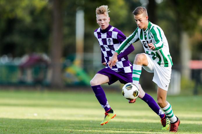DONGEN,  DVVC-TVC Breda. Stefan van Dongen van DVVC hier aan de bal. Foto Pix4Profs/ Gino van Outheusden