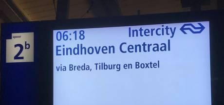 Het kan weer! Eerste intercity van Eindhoven naar Dordrecht vertrok vanmorgen om 06.18