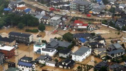 Dodental door noodweer in Japan loopt op tot 65