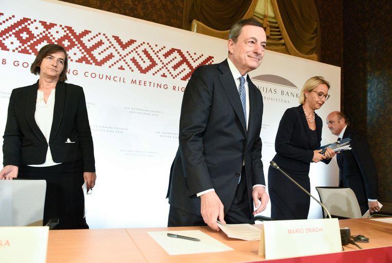 e0c0ecf8c87 ... De president van de Europese Centrale Bank, Mario Draghi. Beeld AFP