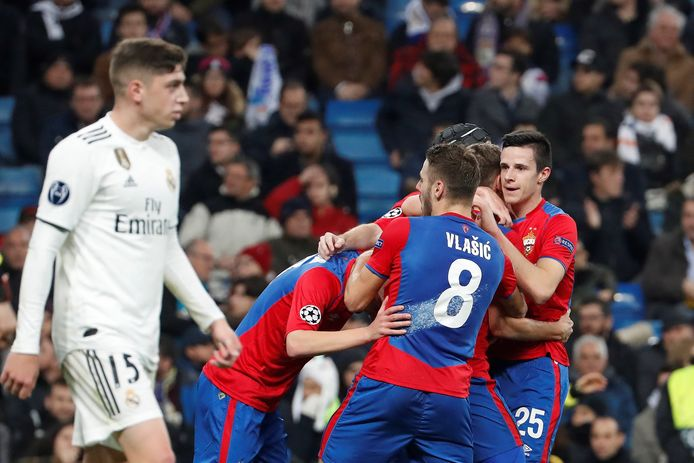 Real Madrid was de laatste tegenstander waarvan CSKA won in Moskou (1-0). In Bernabéu wonnen de Russen zelfs met 0-3.
