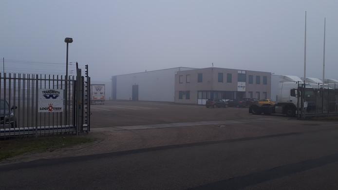 De bedrijfsruimte aan de Koopvaardijweg 7.