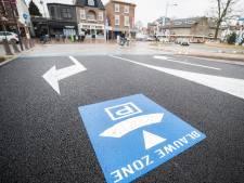 De Driehoek in Bilthoven is tijdelijk parkeerterrein