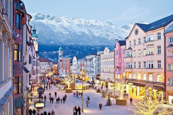 Naast skiën in Tirol kan je nu ook een stedentrip doen naar Innsbruck tegen voordeelprijs.