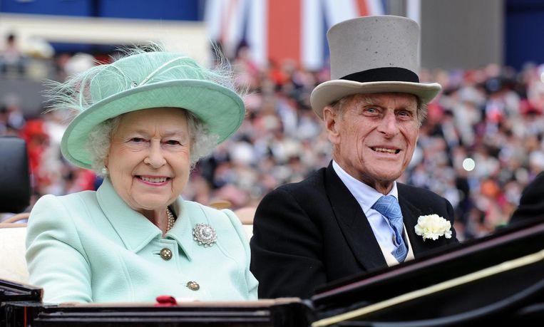 Queen Elizabeth II en prins Philip