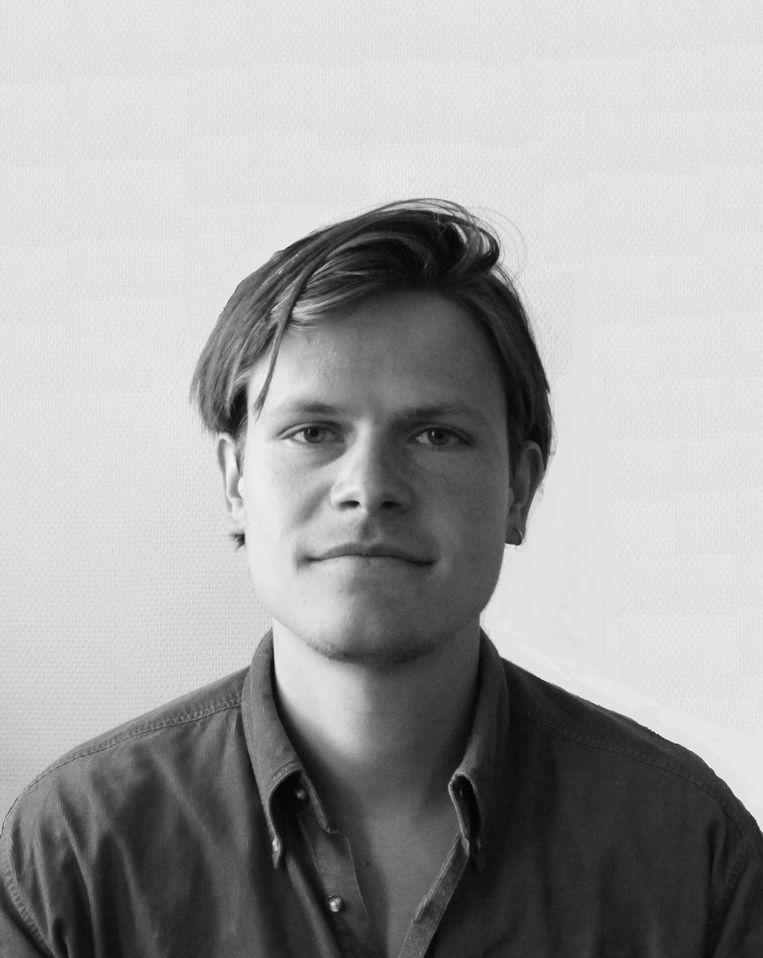 Joris Melman, promovendus politicologie aan de Universiteit van Oslo.  Beeld