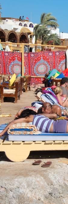 Eindelijk weer blonde koppies in Egypte