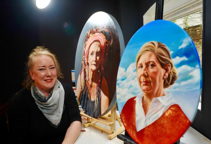 Galeriehoudster en portretschilder Wilma Geerts wil het eerste Nederlandse Portret Museum vestigen in de Berckepoort.