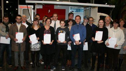 Diploma's EHBO en Helper EHBO uitgereikt