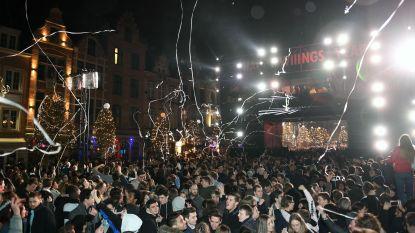 Leuven beleeft relatief rustige en feestvolle overgang van oud op nieuw