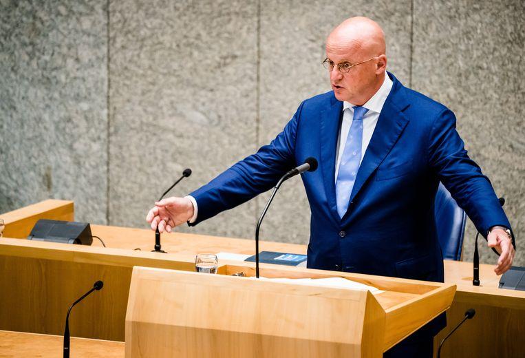 Minister Grapperhaus van Justitie en Veiligheid. Beeld ANP