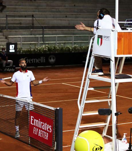 Le nouveau grand n'importe quoi de Benoît Paire au 1er tour du Masters 1000 de Rome