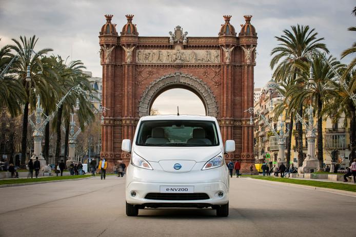 Nissan was een voorloper: dat merk levert deze elektrische e-NV200 al sinds 2014