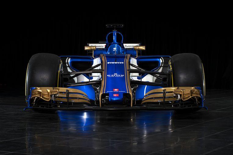 De nieuwe Sauber. Beeld Sauber
