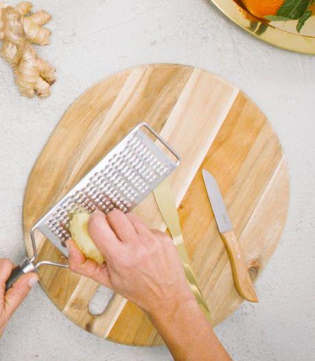 Keukenheks: Snijd je gember op déze manier voor een intensere smaak