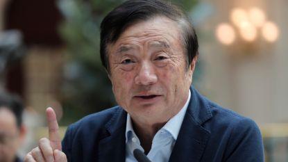 """Oprichter Huawei ontkent spionage in zeldzaam interview en noemt Trump """"geweldige president"""""""